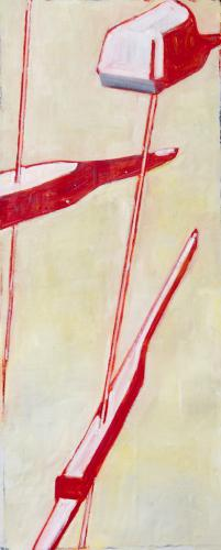 approach 2015 - 115 x 40 cm oil on canvas