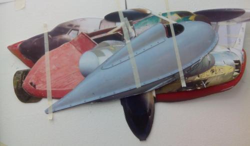 trafficjam 2015 - 30 x 45 cm paper cutouts
