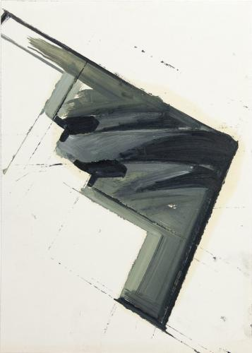 untitled 2014 - 29  x  21 cm oil on paper